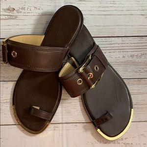 Michael Kors Size 9 Leather Sandals